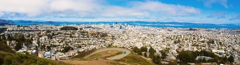 Panorama van San Francisco royalty-vrije stock foto