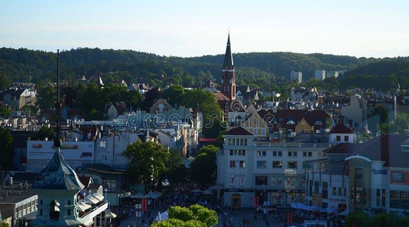 Panorama van stad royalty-vrije stock foto's