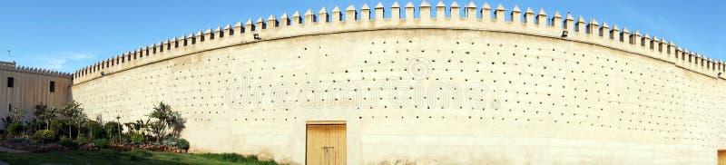 Panorama van stadsmuur royalty-vrije stock afbeelding