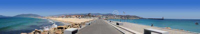 Panorama van Tarifa stock afbeelding