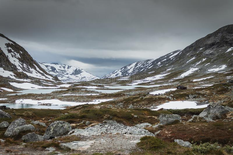 Panorama van toeristische weg 258 royalty-vrije stock foto's