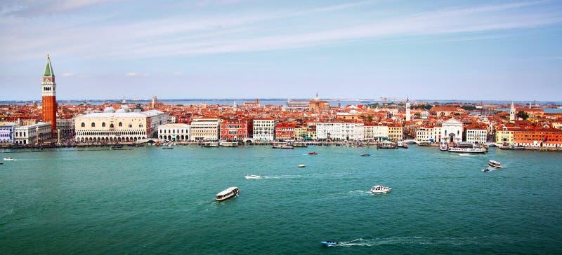 Panorama van Venetië royalty-vrije stock foto's