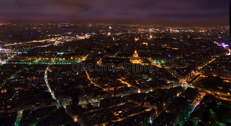Panorama van Versilia van de haven van Viareggio royalty-vrije stock foto's