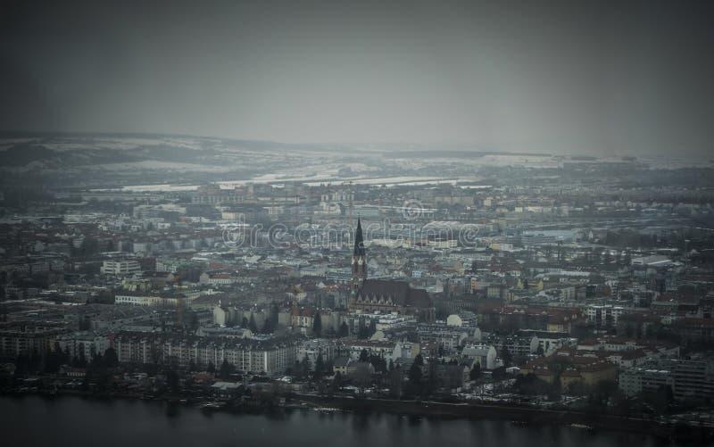 Panorama van Wenen stock afbeeldingen