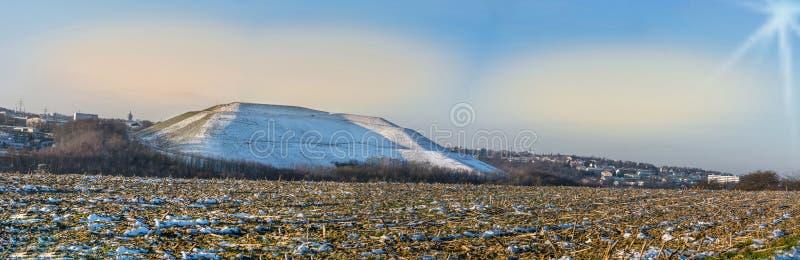 Panorama Velbert, paisagem comercial Röbbeck e operação de descarga Pl fotos de stock