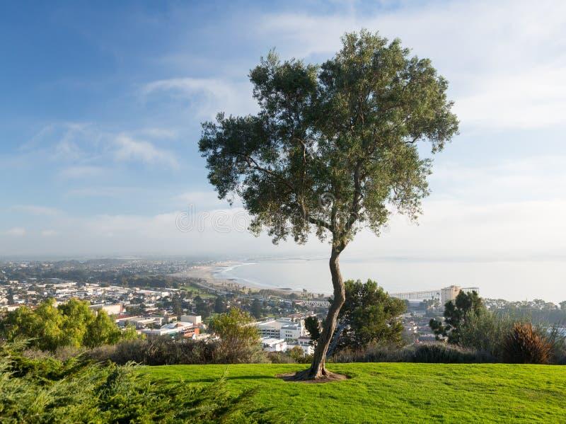 Panorama Of Ventura From Grant Park Royalty Free Stock Photos