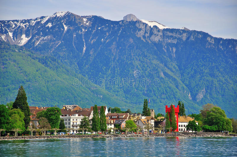 Panorama of Vevey