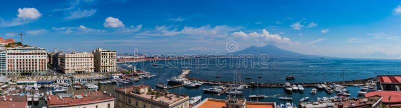 Panorama VI de Naples photos stock