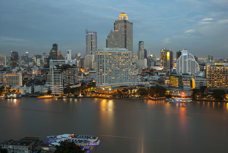 Download Panorama View Of Bangkok City Editorial Stock Image - Image: 41214954