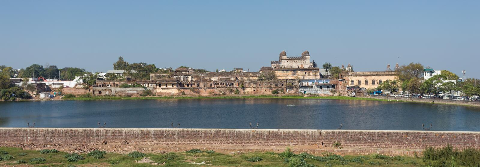 Panorama view of the Bhopal, city in India. / madhya prades district stock photos