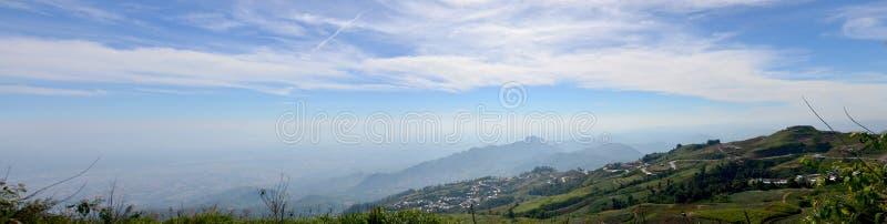 Panorama view of Phu Thap Boek mountain royalty free stock image