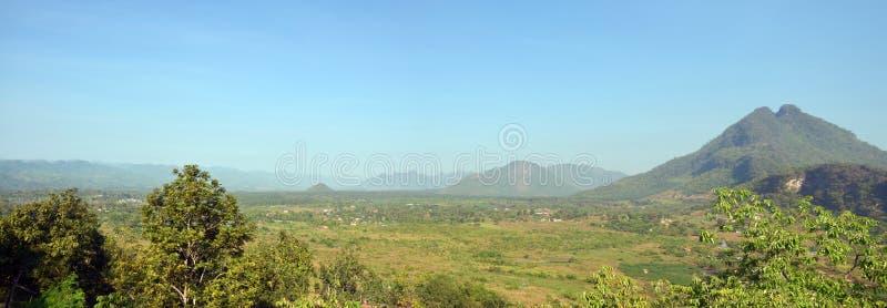 Panorama View point Landscape of Payathonsu royalty free stock photo