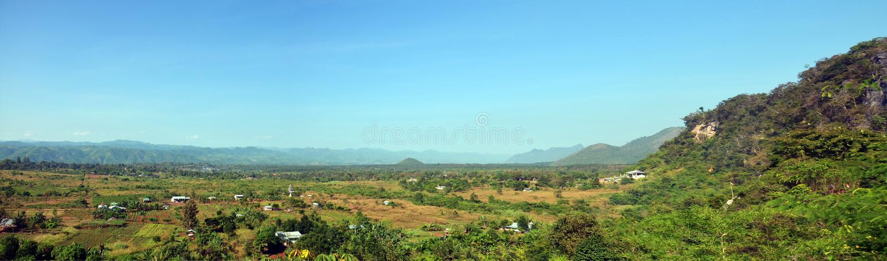 Panorama View point Landscape of Payathonsu stock photo