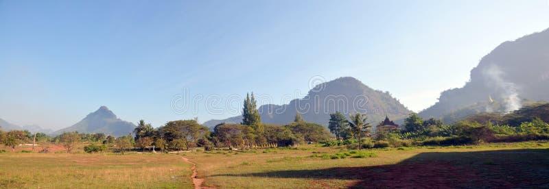 Panorama View point Landscape of Payathonsu stock image
