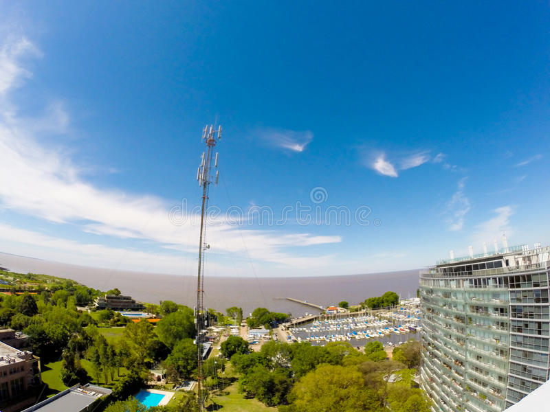 Panorama Vincente Lopez obrazy stock