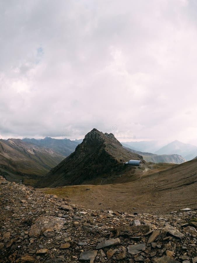 Panorama von Österreich in seinem ganzem Ruhm stockfotografie