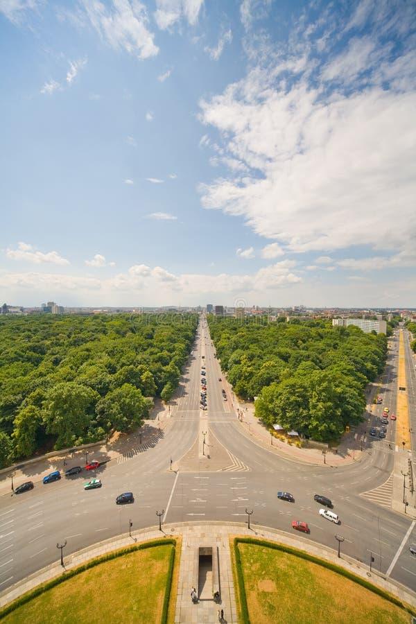 Panorama von Berlin lizenzfreies stockfoto