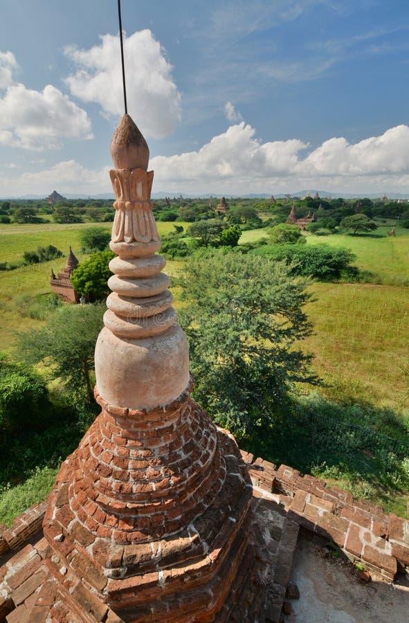 Download Panorama Von Bulethi-Pagode Bagan Myanmar Stockbild - Bild von architektur, birma: 106802919