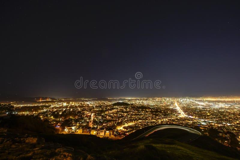 Panorama von Los Angeles stockfotos