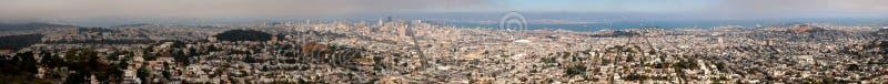 Panorama von San Francisco stockbilder