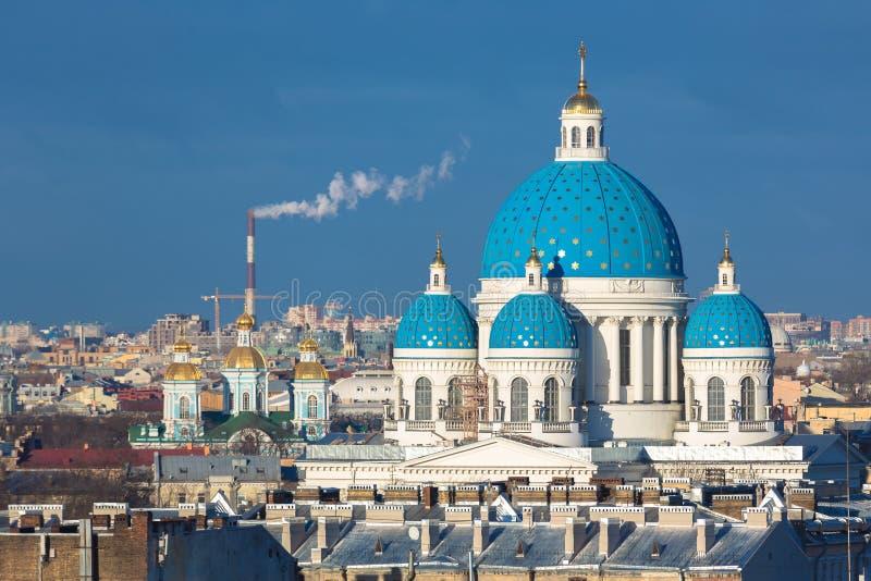 Panorama von St Petersburg lizenzfreies stockfoto