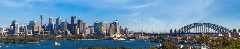 Panorama von Sydney-Stadt stockfoto