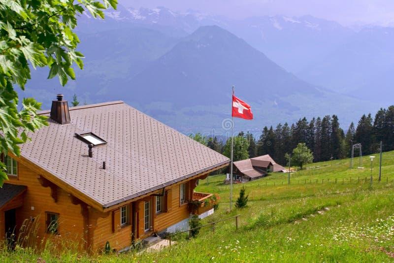 Panorama von Trieves (Alpen) stockfotos