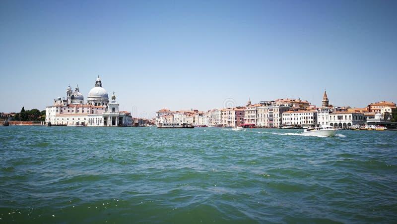Panorama von Venedig lizenzfreies stockbild