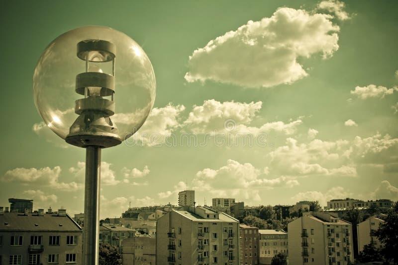 Download Panorama of Warsaw stock photo. Image of city, lantern - 15312756