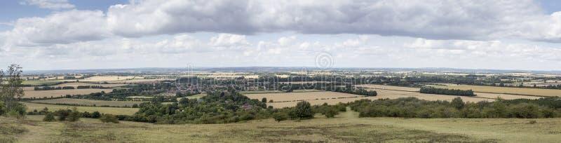 Panorama of Watlington Village royalty free stock photo