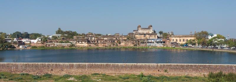 Panorama widok Bhopal, miasto w India zdjęcia stock