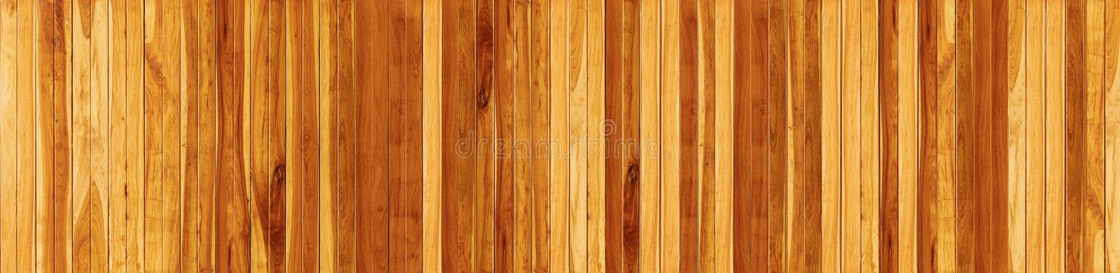 Panorama Wood floor texture background.  royalty free stock image