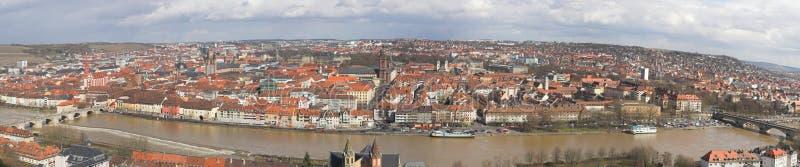 Download Panorama Wuerzburg stock image. Image of water, landmark - 24082085