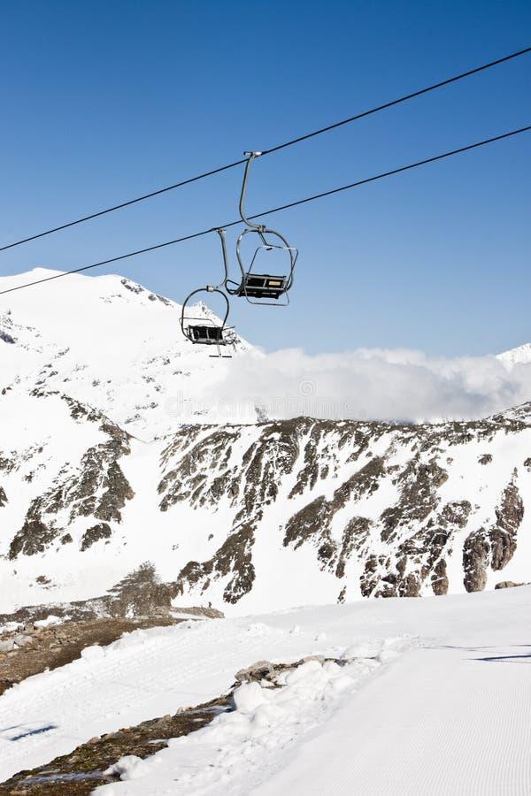 Panoramabahn Kluhspies, Molltaler Glacier stock photos