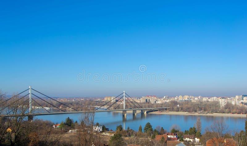 Panoramablick auf der Stadt stockfoto