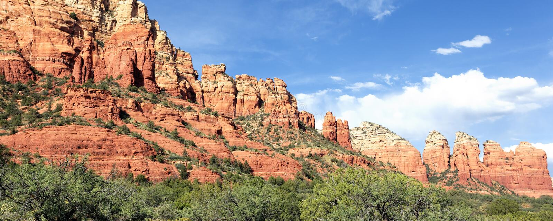 Panoramablick der Wildnislandschaft stockbilder