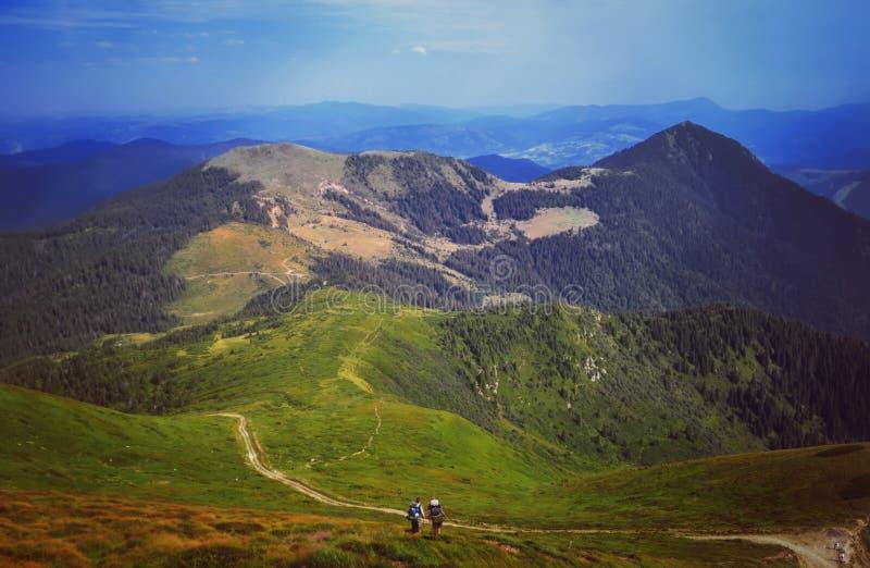 Panoramablicke der schönen Landschaft lizenzfreies stockfoto