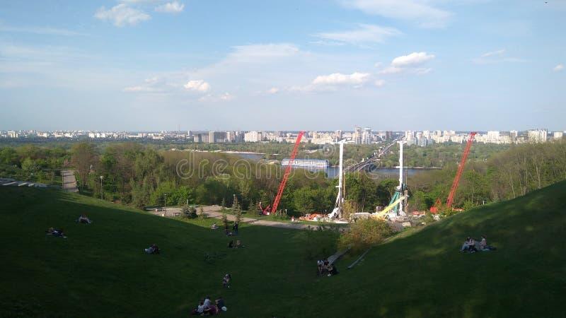 Panoramakiev image libre de droits