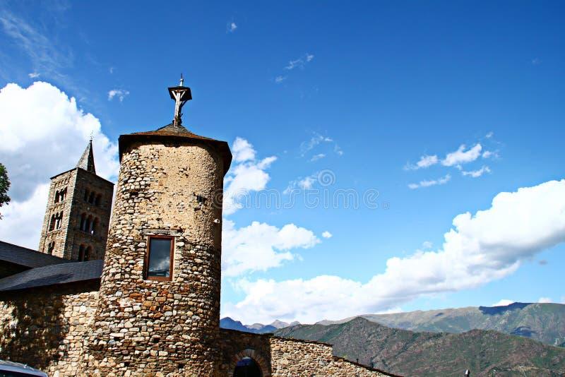 Panoramalandschaft vom Dorf lizenzfreie stockfotografie