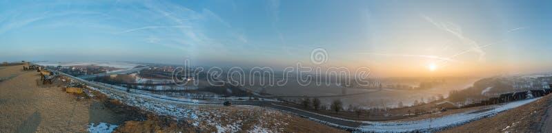 Panoramalandschap van Beieren, Duitsland royalty-vrije stock foto