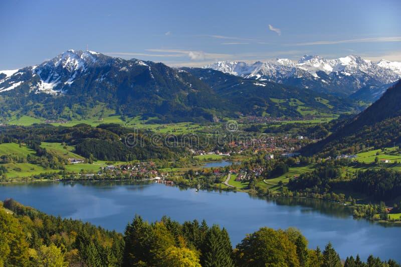 Download Panoramalandskap i Bayern fotografering för bildbyråer. Bild av europa - 37344979
