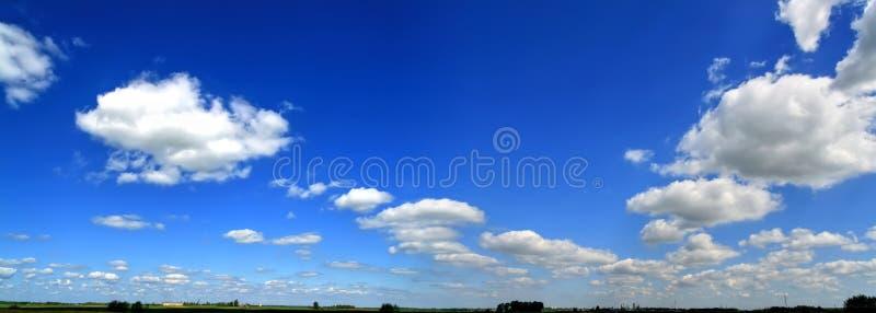panoramasky royaltyfria foton