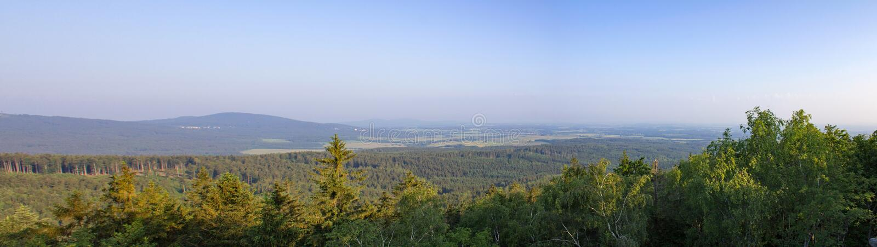 Panoramatic widok od punktu widzenia Mandelstein, Austria obrazy royalty free