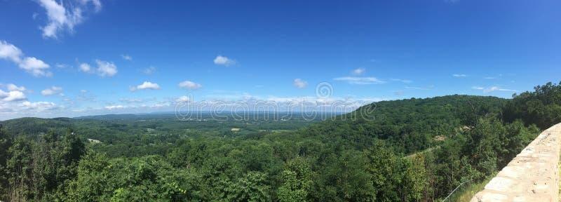 panoramic foto de stock