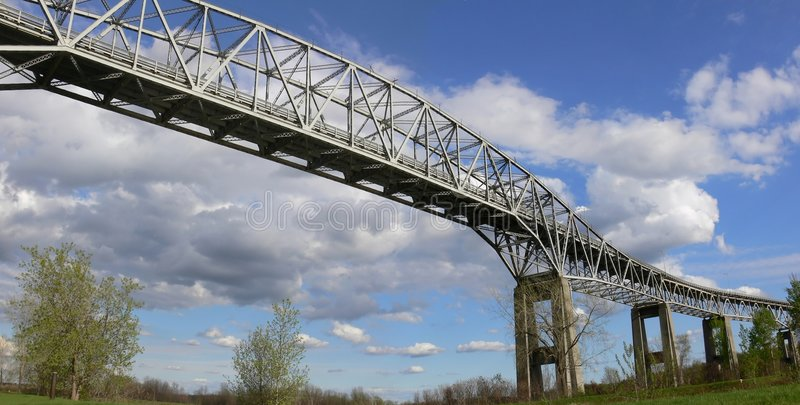 Download Panoramic Bridge stock image. Image of structure, rural - 777531