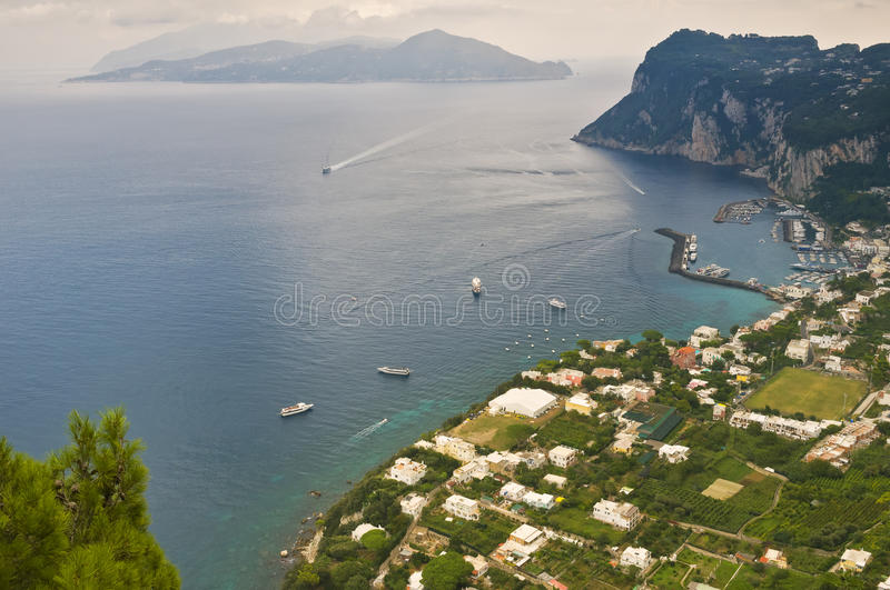 Download Panoramic Coastline View, Capri Italy Stock Photo - Image: 27326652
