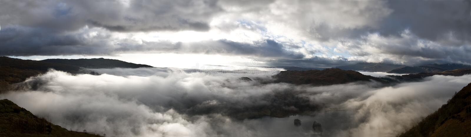 Download Panoramic Fairfiled Horseshoe Clouds Stock Image - Image: 22121059