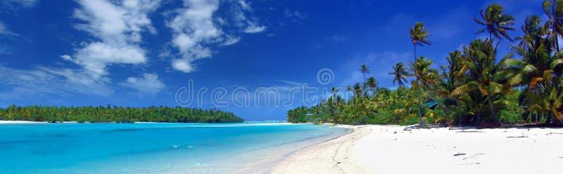 Panoramic Lagoon stock images