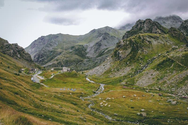 Panoramic Photo of Mountains Photo Taken royalty free stock photos