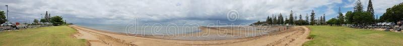 Panoramic Scarborough royalty free stock photos